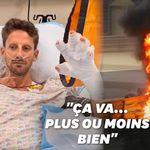 Romain Grosjean donne des nouvelles rassurantes après son terrible