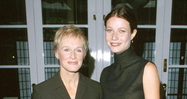 Glenn Close and Gwyneth Paltrow at a luncheon in November