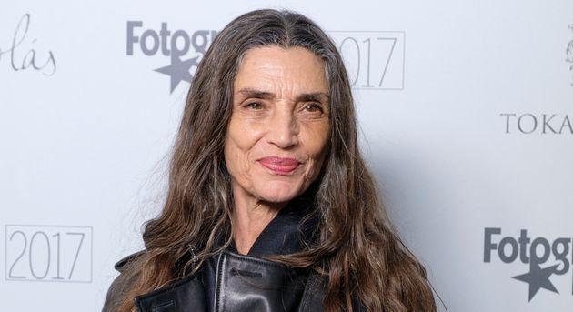 Ángela Molina en la alfombra roja de los Premios Fotogramas de Plata