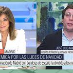 Momento surrealista de Ana Rosa con Almeida: el alcalde acaba echándose la culpa a sí