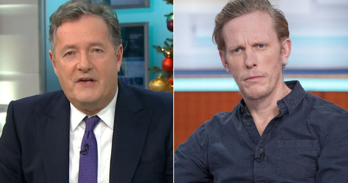 'Why Don't You Shut Up?': Piers Morgan Condemns 'Reckless' Laurence Fox For Holding Large Gathering