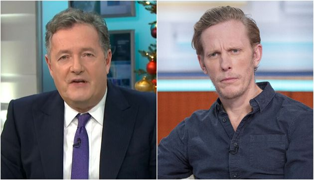 Piers Morgan and Laurence