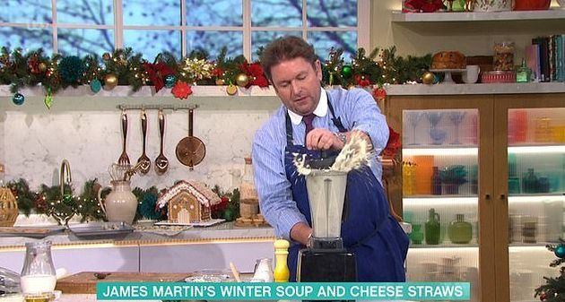 James Martin had a nightmare while cooking on This