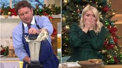 James Martin Shows Exactly How NOT To Make Soup With Blunder-Filled This Morning
