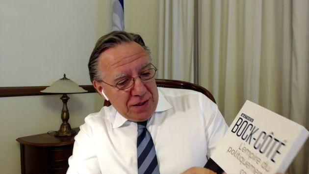 La décision de François Legault d'inclure un essai du chroniqueur conservateur Mathieu...