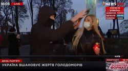Επίθεση εναντίον Ουκρανής ρεπόρτερ «στον