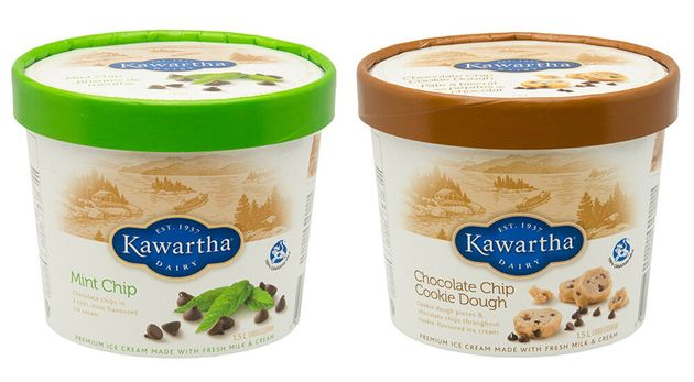 Kawartha Dairy Limited is recalling two flavours of ice cream products due to the