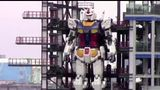 "A 60-foot ""Gundam"" robot that can walk and move its arms was unveiled in Japan on Monday amid hopes that it will help invigorate tourism hit by COVID-19."