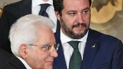Salvini va da Mattarella per lamentarsi:
