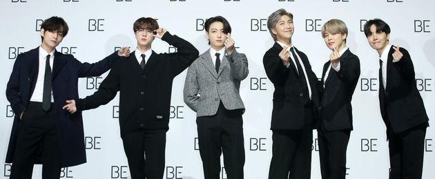 방탄소년단(BTS) 신곡 '라이프 고즈 온'이 빌보드 '핫100' 1위에