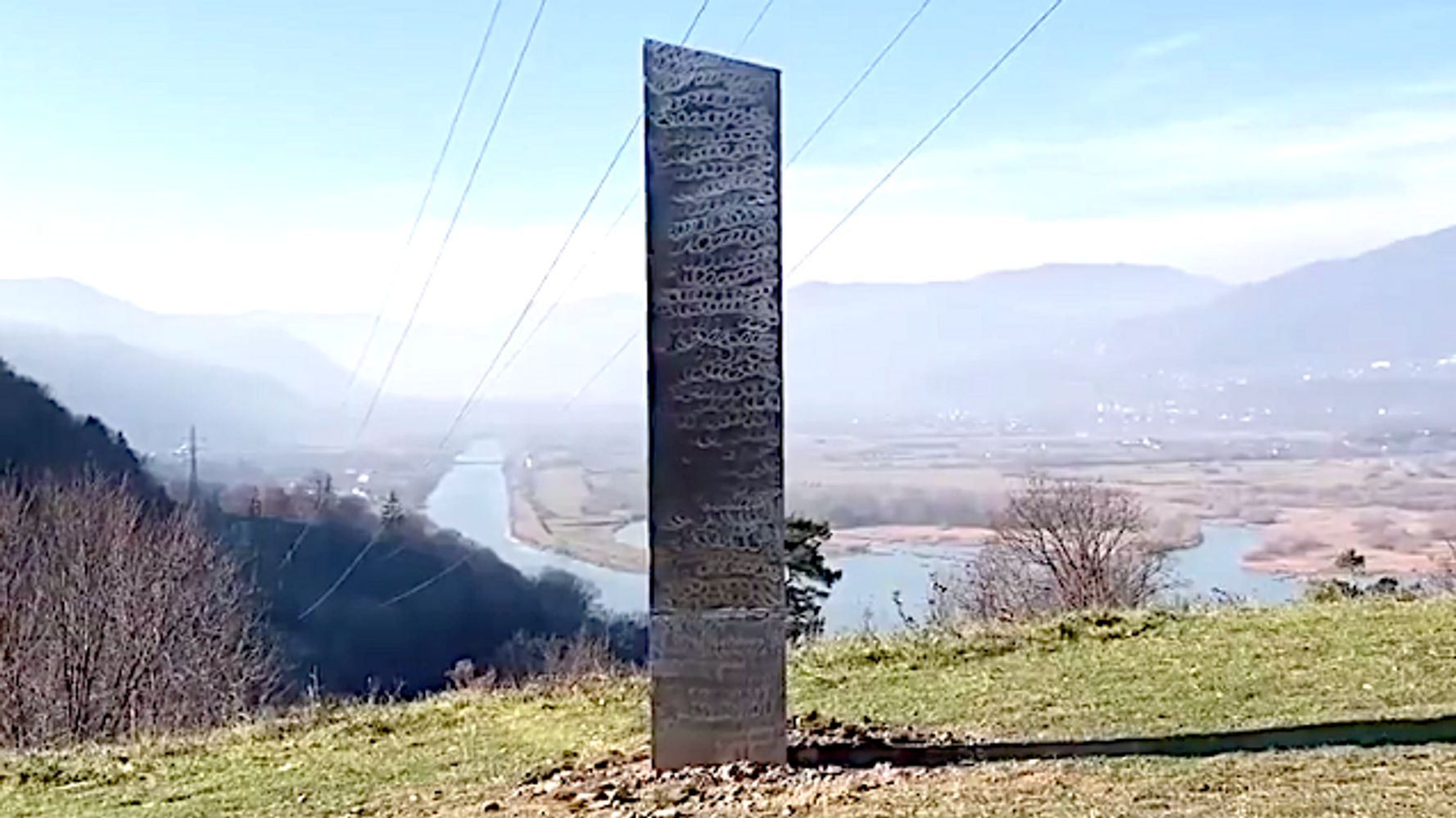 New Monolith Mysteriously Pops Up In Romania