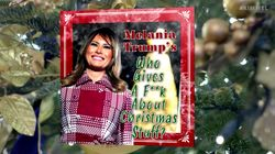 Melania Trump Really Hates Christmas In 'Kimmel' Spoof Of White House Holiday