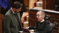 Unidas Podemos, ERC y Bildu retiran su enmienda