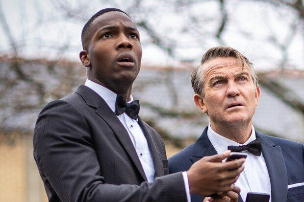 Tosin Cole and Bradley Walsh are leaving Doctor