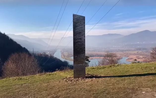 Un mystérieux monolithe a été découvert en