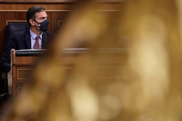 Imagen de archivo del presidente, Pedro Sánchez, en el