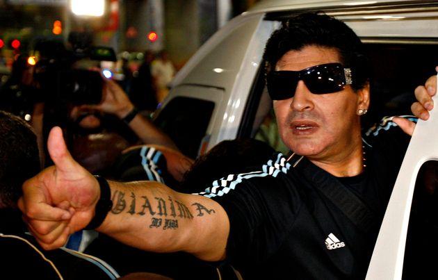Maradona, en