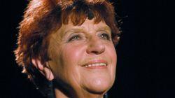 La chanteuse Anne Sylvestre est