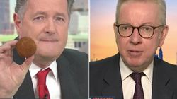 Piers Morgan And Michael Gove Clash Over 'Substantial Meal' Definition In Latest Scotch Egg