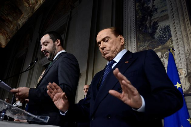 Berlusconi segue Salvini e Meloni: