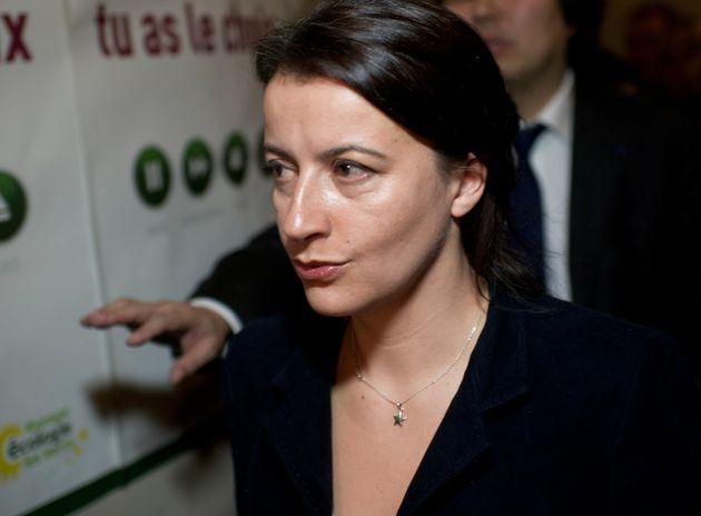 Cécile Duflot à Paris en novembre 2011 (Photo FRED DUFOUR/AFP via Getty
