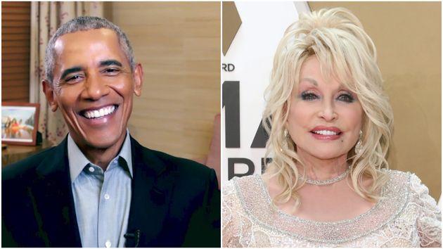 Barack Obama and Dolly