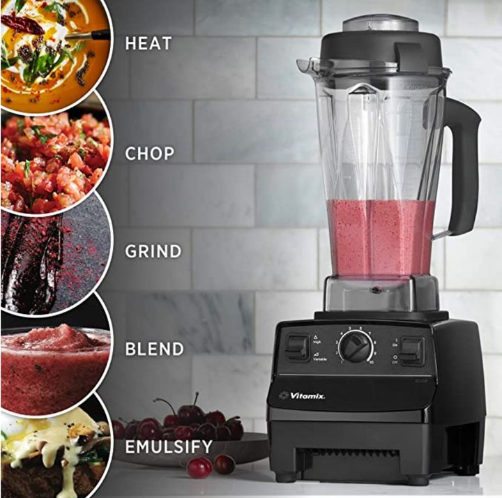 The Vitamix5200 Professional-Grade Blender costs around $450 and performs a variety of tasks — but not every home cook may need a blender of this quality.