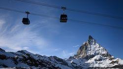 Macron veut dissuader les Français d'aller au ski à