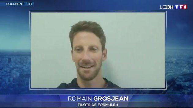 Romain Grosjean revient sur son accident de voiture et espère pouvoir vite reprendre le volant de son