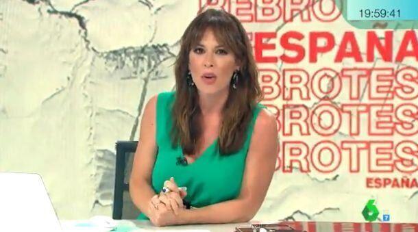 Mamen Mendizábal, presentadora de 'Más Vale