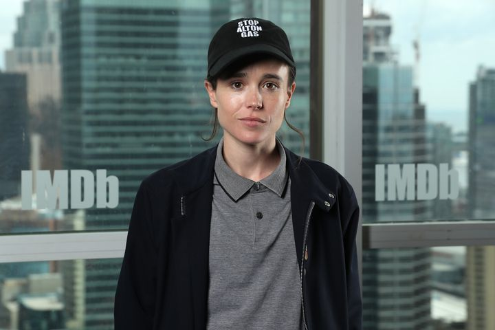 """Juno"" and ""The Umbrella Academy"" star Elliot Page announced that he is transgender on social media Tuesday."