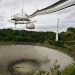 Arecibo, le télescope le plus célèbre du monde, s'est