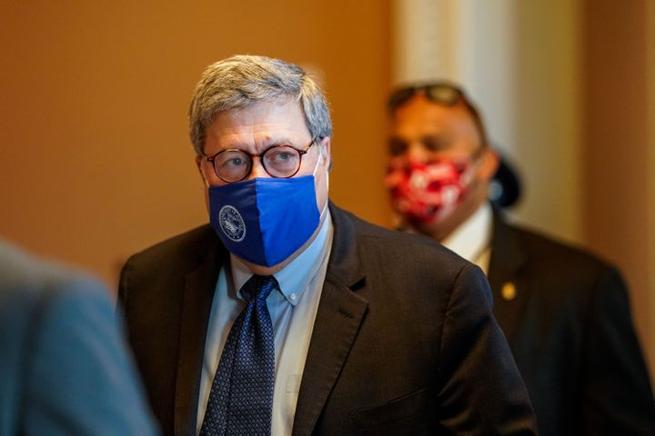 Attorney General William Barr is one of the Trump officials who promoted fear about election fraud in the first place.