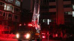 군포 아파트서 화재 발생하자 지체없이 사다리차로 구조 작업한 의인은