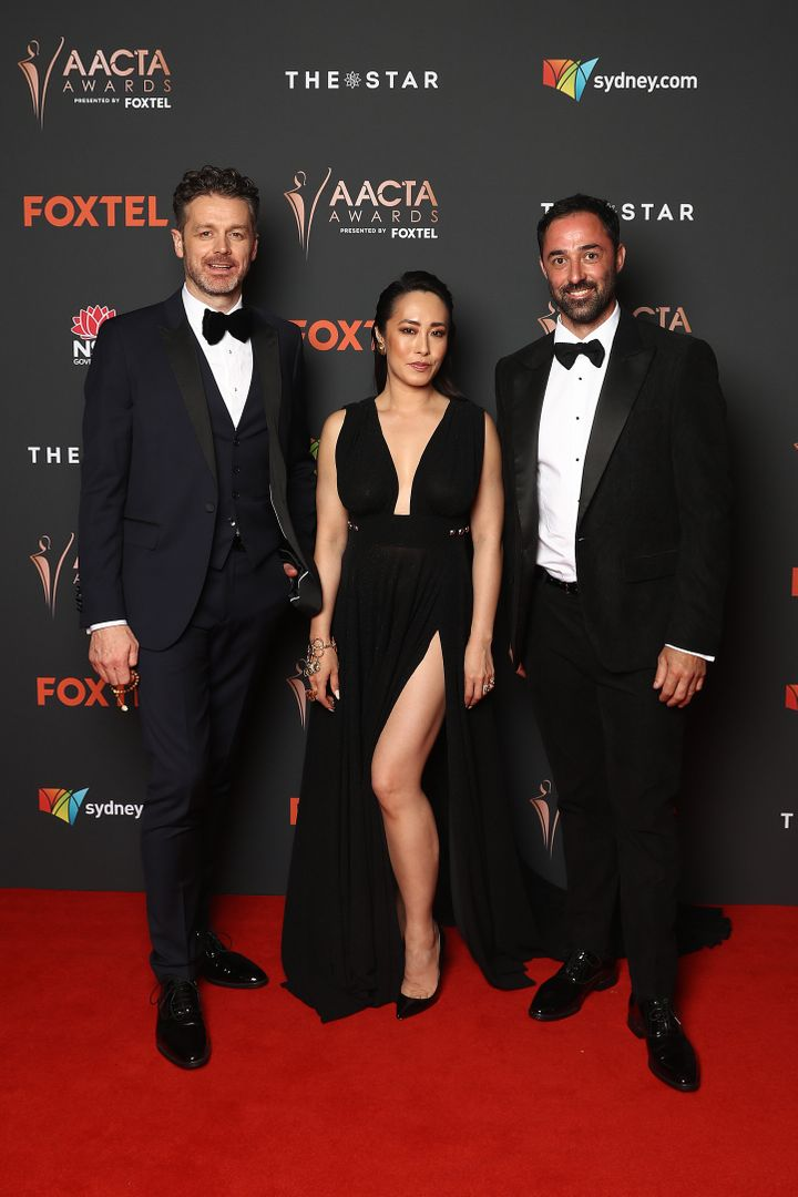 'MasterChef Australia' judges Jock Zonfrillo, Melissa Leong and Andy Allen have started filming the 2021 season. The trio pictured here at the 2020 AACTA Awards in Sydney on November 30.