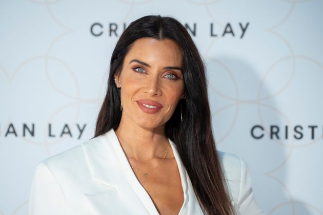 Pilar Rubio en la presentación de la colección de Cristian en octubre de 2020 en