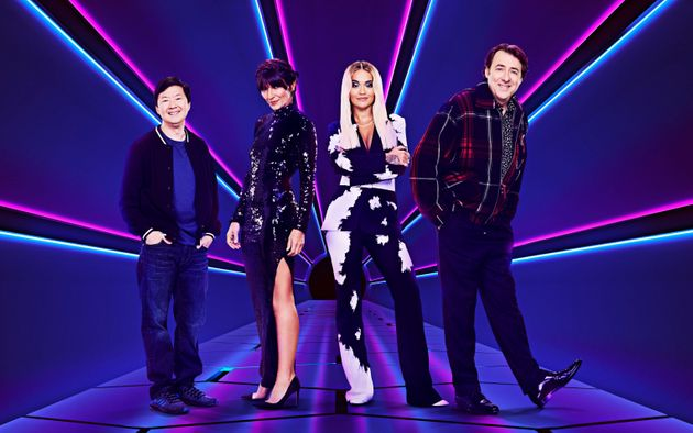 The judging panel for the first series of The Masked Singer UK