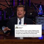 James Corden Says Trump's Retweet Cat-Astrophe Hits 'New