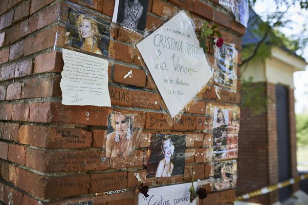 El lugar en el que debería estar el memorial en honor a Cristina Ortiz, conocida artísticamente como...