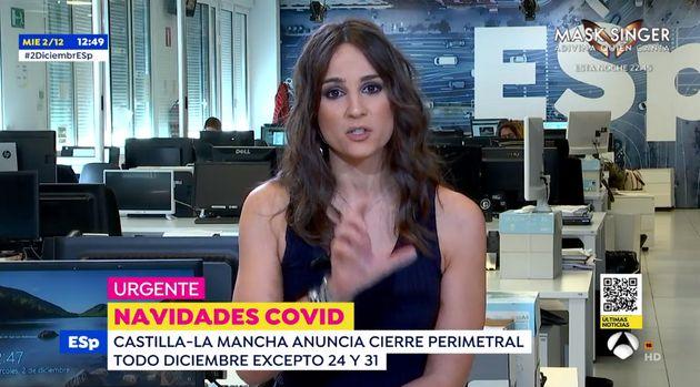 Lorena García en 'Espejo