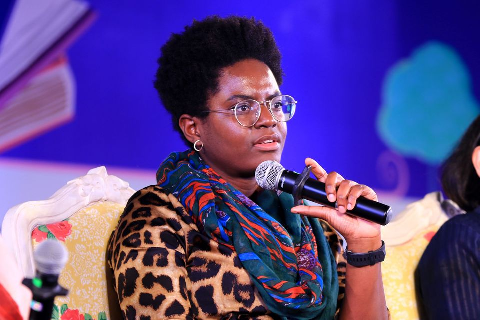 British journalist and author Reni Eddo-Lodge is one of the guests on Clara's podcast, This