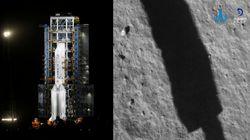 La nave china que enviará muestras de la Luna a la Tierra aterriza con