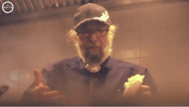 Alfredo Gradus en un vídeo para