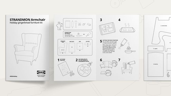 Gingerbread Armchair IKEA instructions