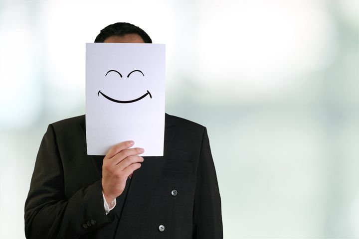 There's a big difference between offering positive encouragement to your co-worker and forcing positivity.