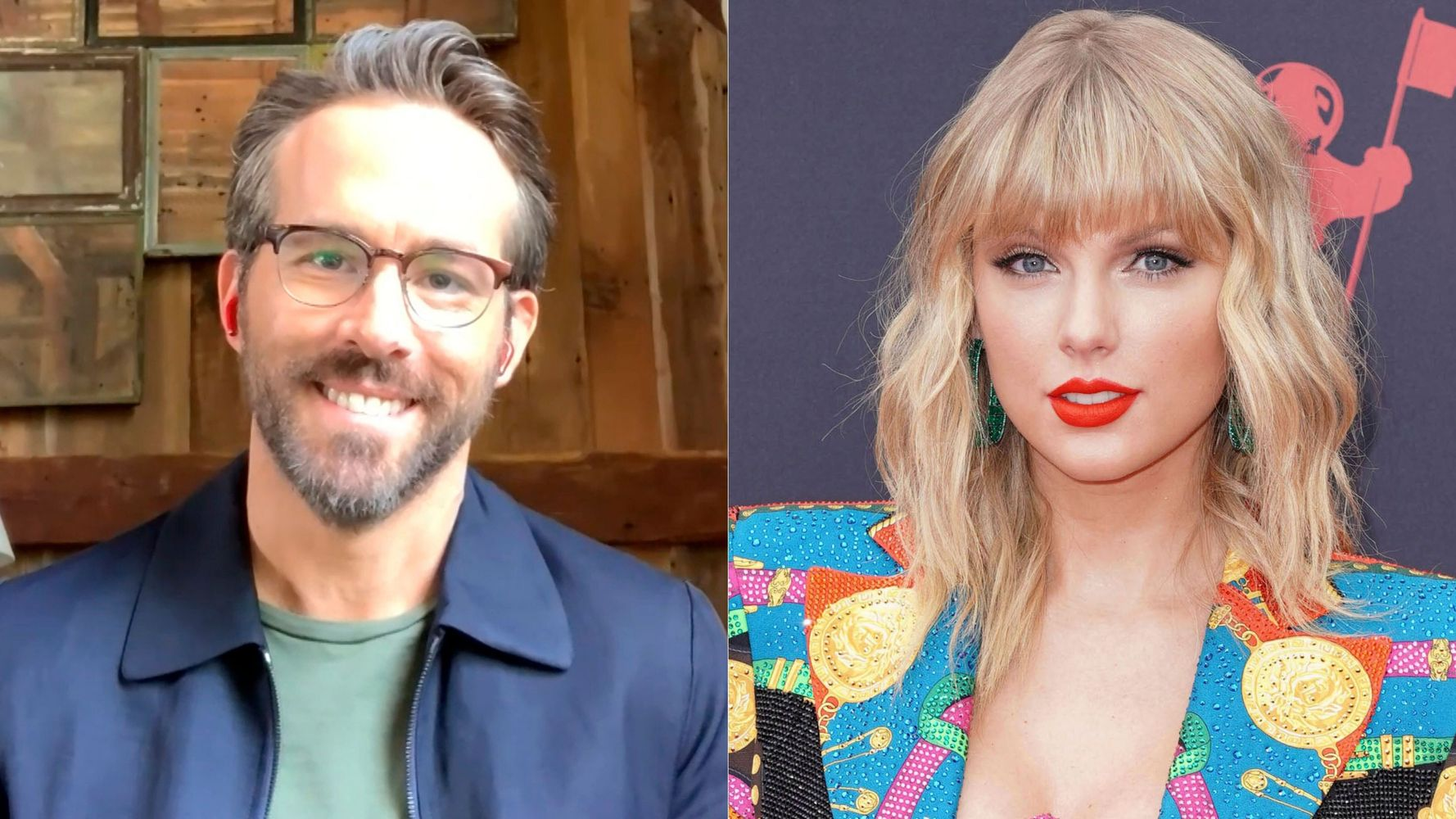 Taylor Swift Let Ryan Reynolds Use Her New Re-Recordings In A Commercial