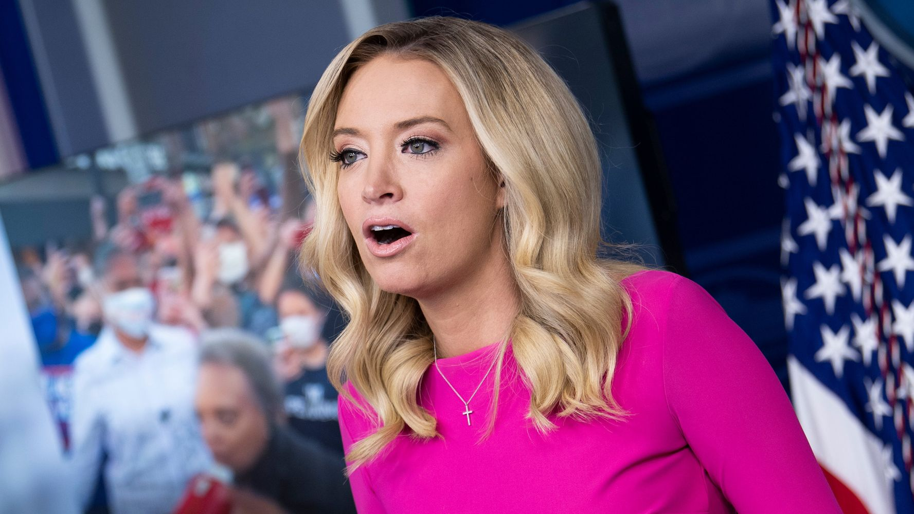 Kayleigh McEnany Defends White House Holiday Parties Amid COVID Surge