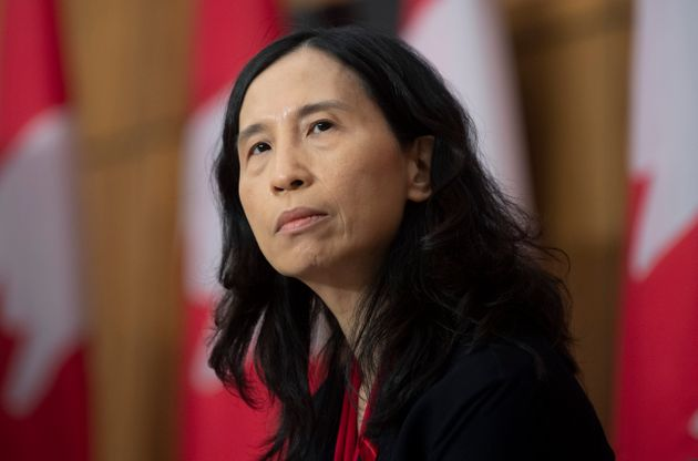 Chief Public Health Officer Theresa Tam listens to a question during a news conference Dec. 1, 2020 in