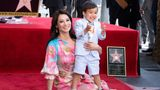 Actress Lucy Liu is joined by her son Rockwell Lloyd as she receives her star on the Walk of Fame during a ceremony in Hollywood on May 1, 2019. - Lucy Liu's star is the 2,662nd star on the Hollywood Walk Of Fame in the Category of Television. (Photo by VALERIE MACON / AFP)        (Photo credit should read VALERIE MACON/AFP via Getty Images)