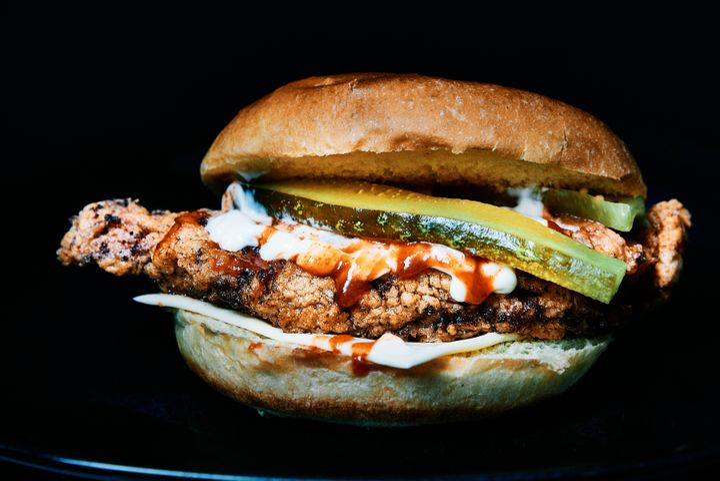 The spicy chicken sandwich reigned supreme in 2020.